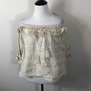 Steve May Willow Top Off Shoulder